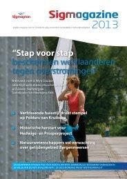 Sigmagazine 2013 - Waterwegen en Zeekanaal