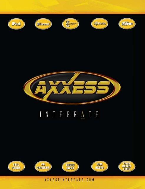 Metra Axxess Amplified Harness for 2005-2006 Chevrolet Equinox//Pontiac Torrent t AXXESS R METRA Ltd GMOS-08