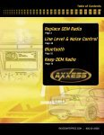 Application Chart - Replace  OEM Radio - Metra Catalog Download - Page 3