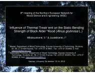 Influence of Thermal Treatment on the Strength of Black Alder Wood ...
