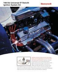 63-9415 - Y8610U Universal IP Retrofit Ignition System Kit - Honeywell