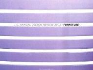 I.D. ANNUAL DESIGN REVIEW 2002 : FURNITURE