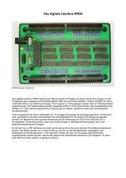Das digitale Interface WR64 - AK MODUL-BUS Computer GmbH