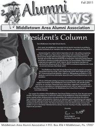 2011 Alumni Newsletter - the Middletown Area School District