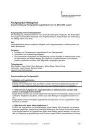 Zusammenfassung Fachgespräch Netlog_MSN - JaRL