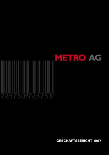 METRO AG - METRO Group