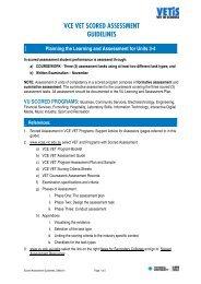 Scored Assessment Guidelines - TLS