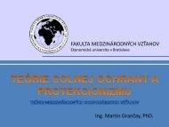 Q - Fakulta medzinárodných vzťahov - Ekonomická univerzita v ...