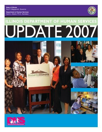 Illinois Department of Human Services Legislative Update 2007