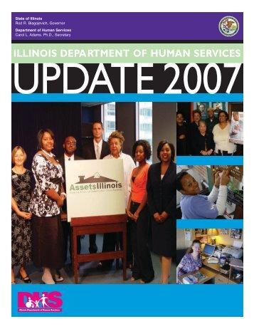 Illinois Department of Human Services Legislative Update 2007