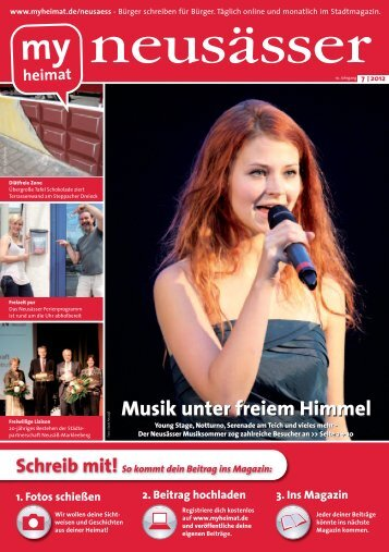 So kommt dein Beitrag ins Magazin - MH Bayern