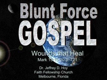 Wounds that Heal - Faith Fellowship Church