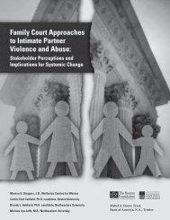 Family Court Approaches to IPVA Full report (black & white PDF)