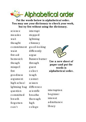 Helpful Definitions (in alphabetical order) Below is a list of ...