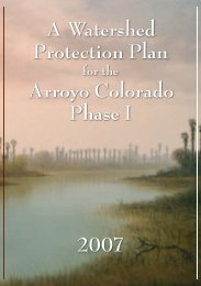 Watershed Protection Plan - Lower Rio Grande Valley Development ...