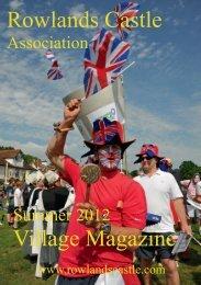 Rowlands Castle Association Village Magazine Summer 2012