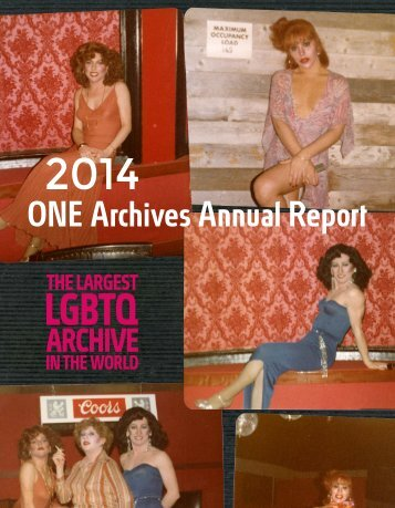 2014-ONE-Archives-Annual-Report