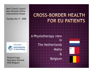 Cross Border Health Care for EU Patients - Roland Craps.pdf