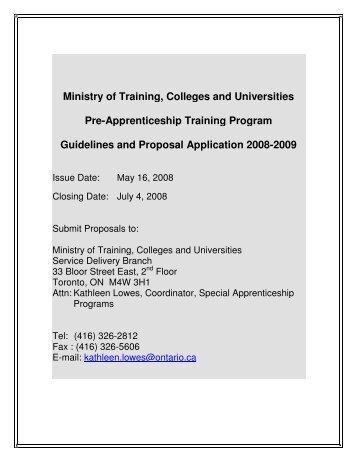 Apprenticeship Magazines
