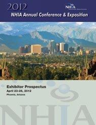 Exhibitor Prospectus - NHIA