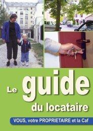 Un guide - Caf.fr