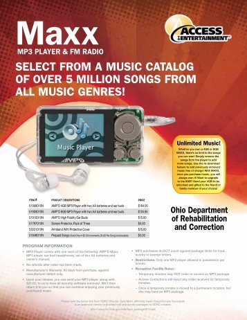 Select from a muSic catalog of over 5 million SongS from all muSic ...
