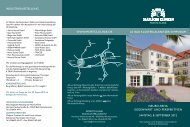 neuro-reha GeGenwart und perspeKtiven - Moritz Klinik