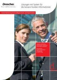 Gesamtleistung - Drescher Print Solutions GmbH