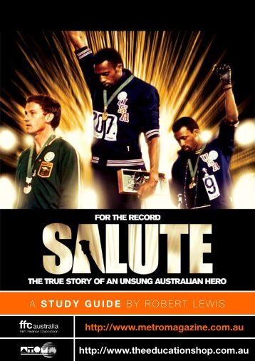 to download SALUTE study guide - Ronin Films