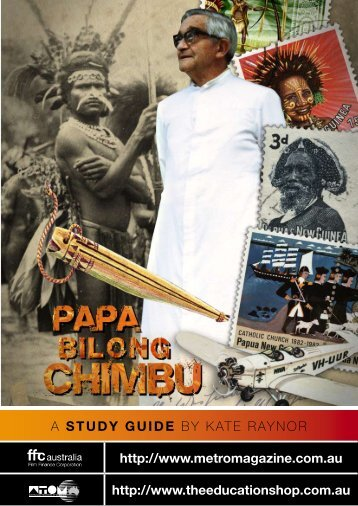 to download PAPA BILONG CHIMBU study guide - Ronin Films
