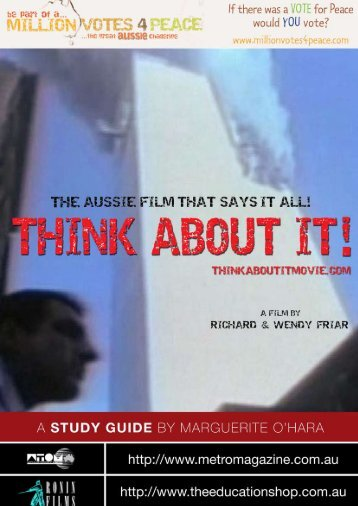 to download THINK ABOUT IT! study guide - Ronin Films