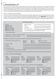 Accident Notification Form - InsuranceInfo