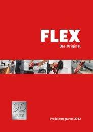 Produktprogramm 2012 - FLEX