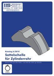 Sattelschelle für Zylinderrohr - HS-Befestigungssysteme
