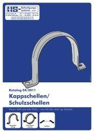 Kappschellen/ Schulzschellen - HS-Befestigungssysteme