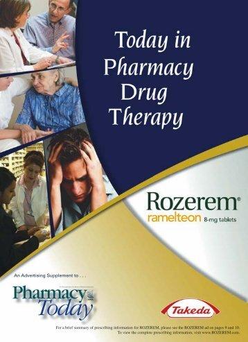 Rozerem Insert pdf/2008 - American Pharmacists Association