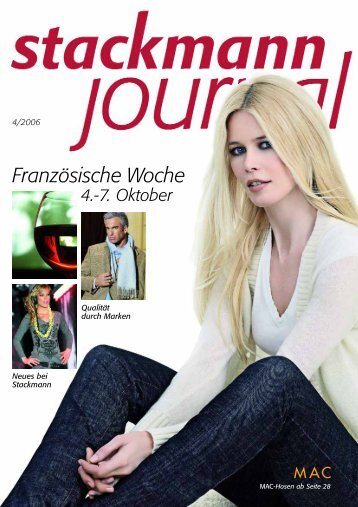 Stackmann Journal - Micaela Blohm