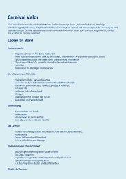 Carnival Valor - Net-Tours GmbH