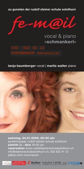 vocal & piano - Rudolf Steiner Schule