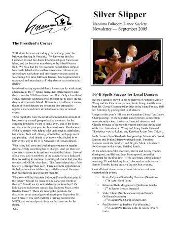 Silver Slipper - Nanaimo Ballroom Dance Society