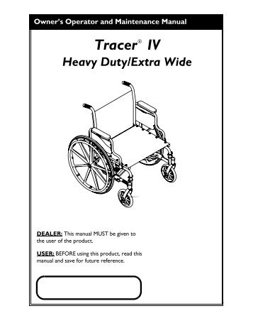 Invacare IVC Man ual Wheelchair Series