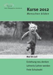 Aktuelle Kursliste PDF - Rafaelschule