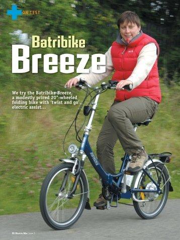 Breeze; Batribike - Electric Bike Magazine