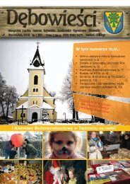 nr 1-2010.pdf - Dębowiec, Urząd Gminy