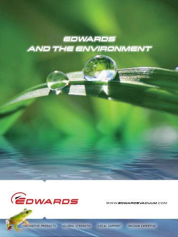 EDWARDS AND THE ENVIRONMENT