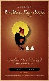Breakfast, Brunch & Lunch - Another Broken Egg