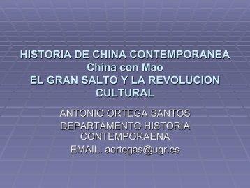 mao iii gran salto y rev_... - Historia Contemporánea