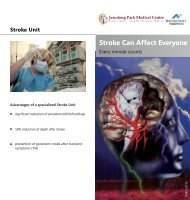 Stroke Can Affect Everyone - Jerudong Park Medical Centre