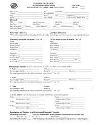 extended program application 2013 - Blackstone Valley Boys & Girls ...