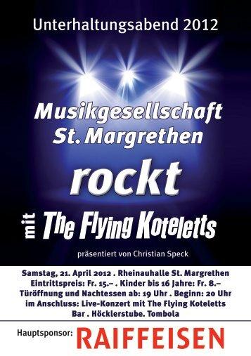 erster Teil zweiter Teil - Musikgesellschaft St. Margrethen